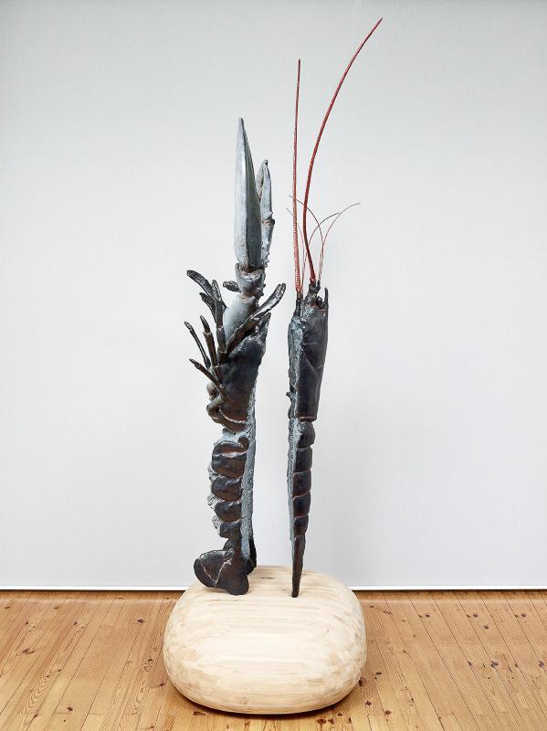 Tango à Chausey, une œuvre d'Alain Passard exposée dans le cadre de l'exposition Alain Passard réveille le Palais à Lille © Thierry Bouet