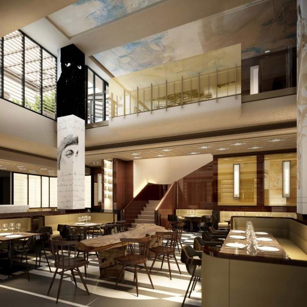 Aperçu de la future Brasserie Le Lutetia © DR