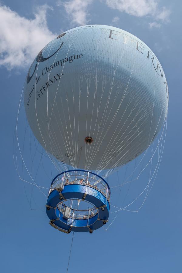 Ballon captif — Epernay ©A. Couvreux OT Epernay