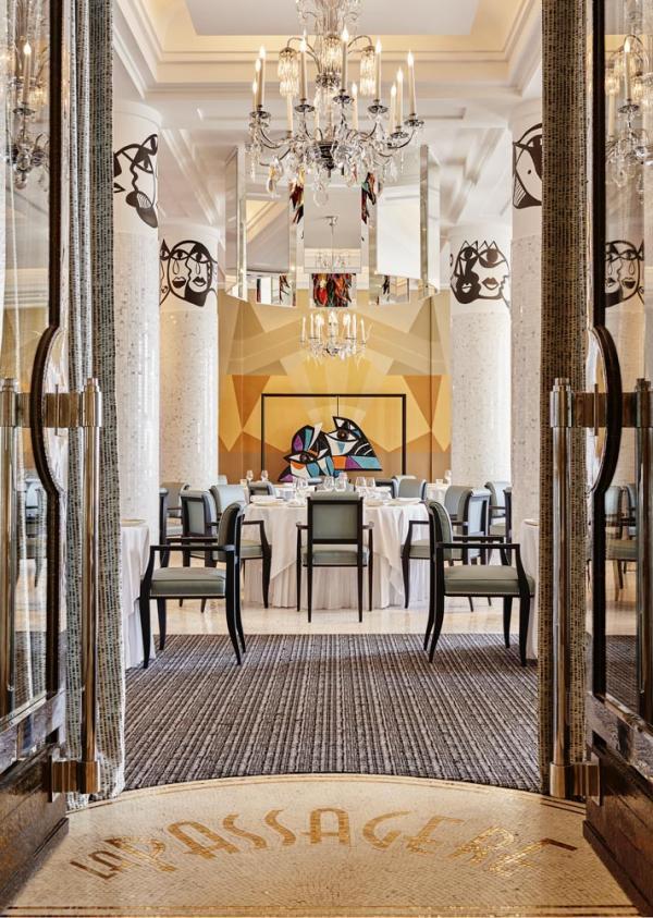 Hôtel Belles Rives – Restaurant La Passagère © Hôtel Belles Rives