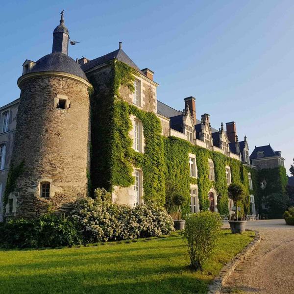 Le parc du Château de l'Épinay en Anjou © DR