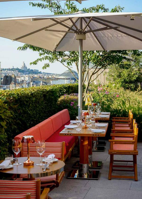 La terrasse de Langosteria au Cheval Blanc Paris © MB|YONDER.fr