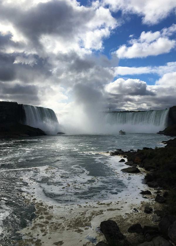 Les chutes du Niagara © Camille Hispard