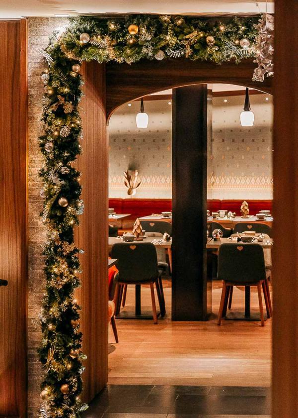 Hôtel Cœur de Megève - Restaurant La Muse © Vincent Leroux