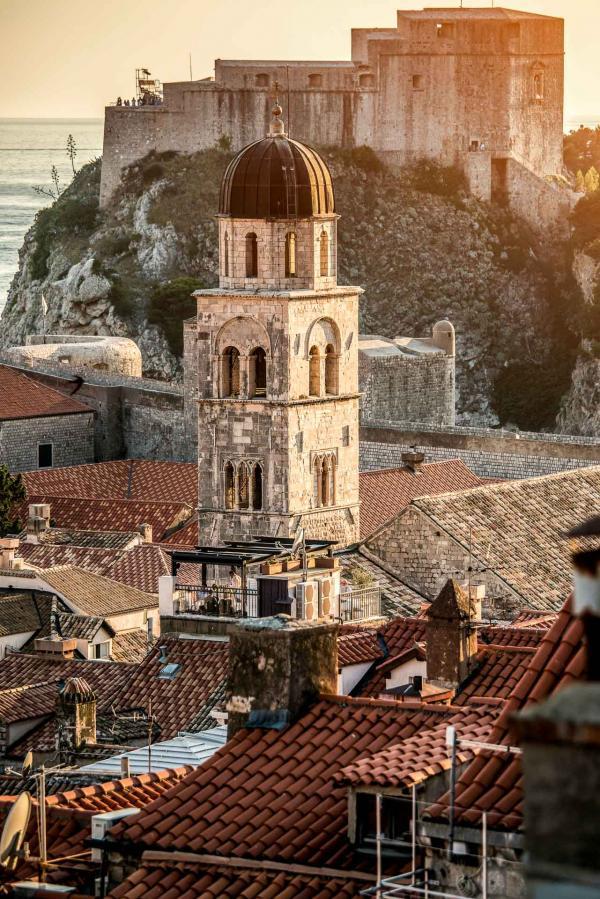 La vieille ville de Dubrovnik © DR