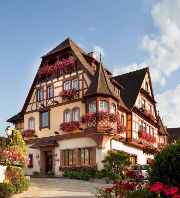 Le Parc Hôtel Obernai — façade © Le Parc Hôtel Obernai