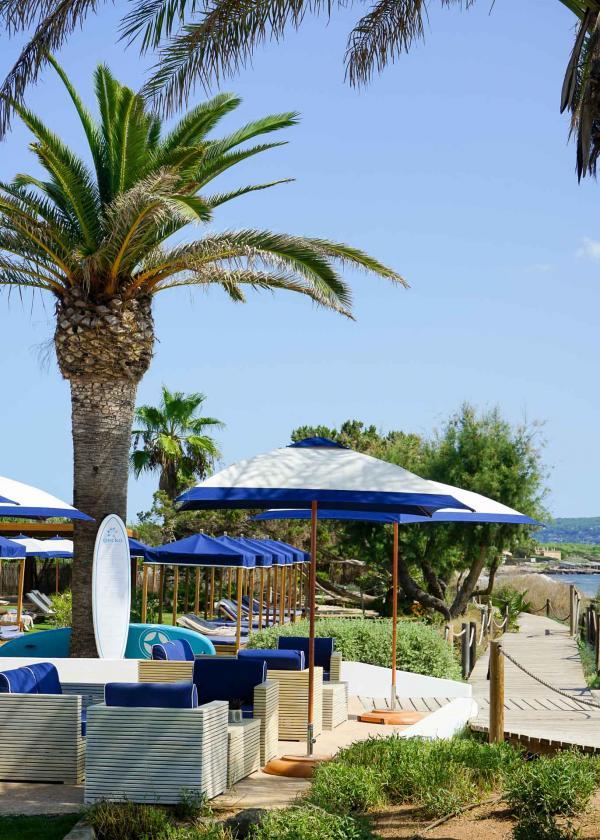 Le Gecko Hotel & Beach Club, l'hôtel le plus exclusif de Formentera © MB   YONDER.fr