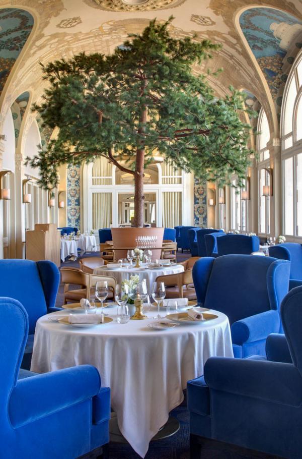 Hôtel Royal Evian Resort | Restaurant Les Fresques © DR