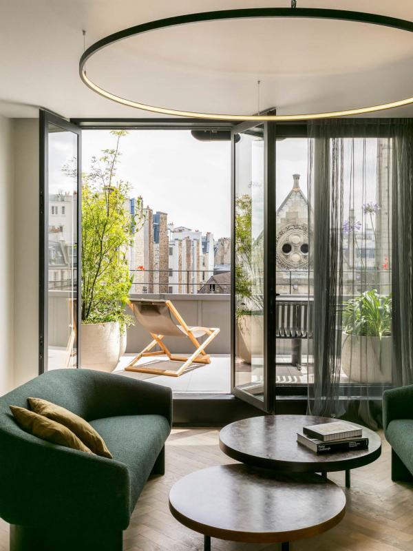 Penthouse — Hôtel National des Arts et Métiers © Jérôme Galland.