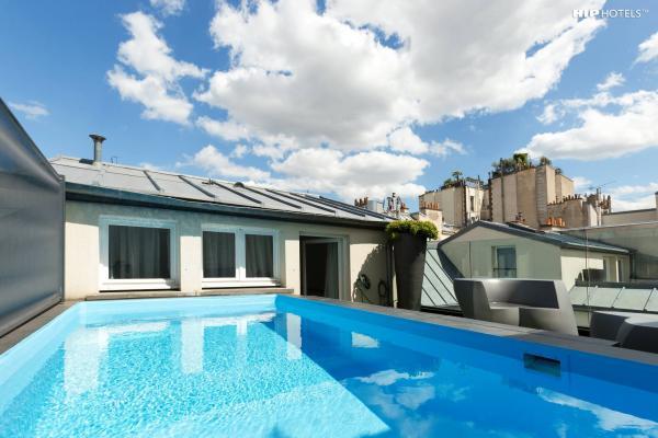 Hôtel 1K Paris - Suites avec piscines privées © DR