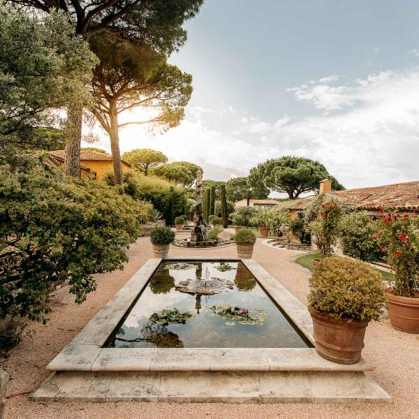 Villa Marie Saint-Tropez - Piscine © League Travels