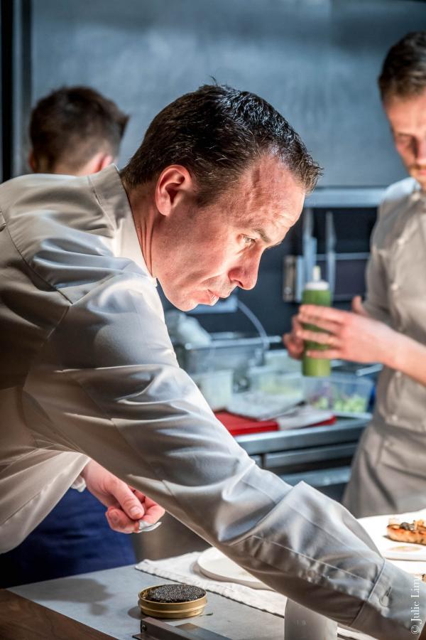 Le chef Christophe Hay © Julie Limont