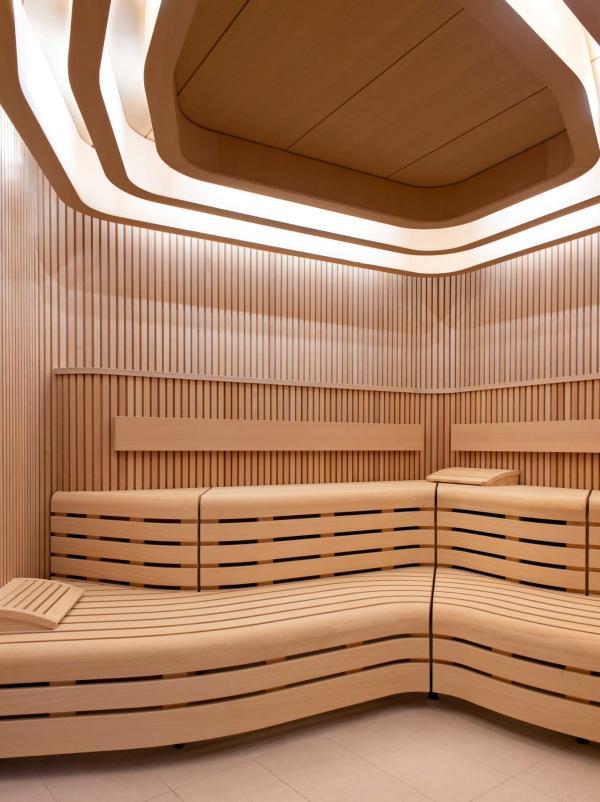 Les Haras à Strasbourg — sauna © Nicolas Matheus