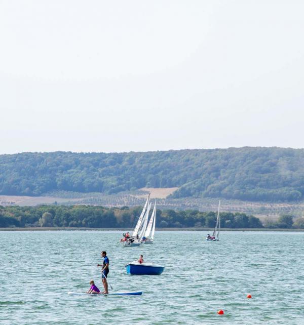 Lac de Madine — activités nautiques © Artipair