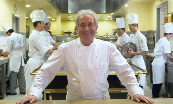 Michel Guérard, chef triplement étoilé et figure de la Nouvelle Cuisine © DR