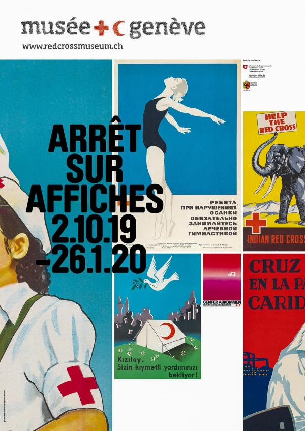 """Musée international de la Croix-Rouge et du Croissant-Rouge — Exposition """"Arrêt sur Affiches"""" © MICR – Superposition.info"""