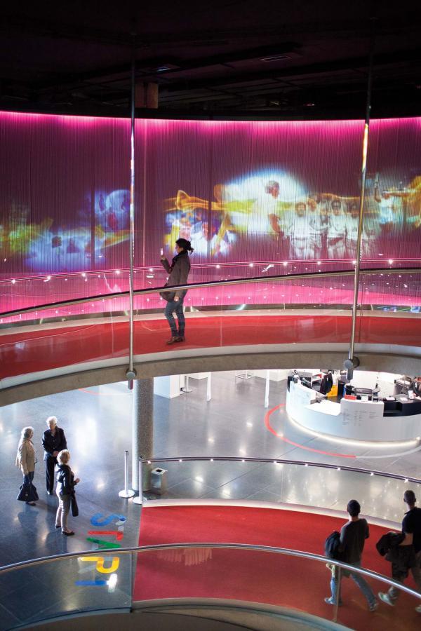 Le Musée Olympique de Lausanne – La rampe© CIO