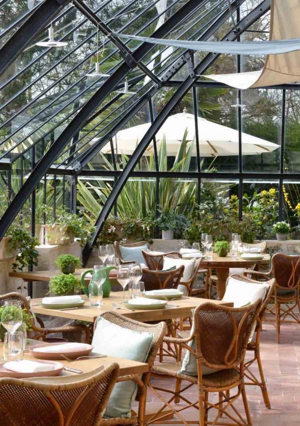 La Chenevière — Petit Jardin intérieur © DR