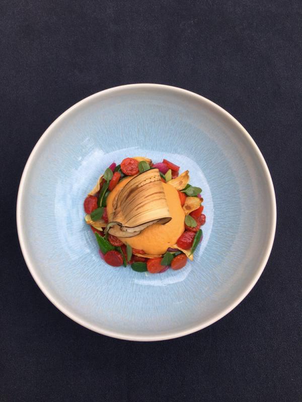 La cuisine de Gatien Demczyna ancrée dans le terroir de Provence © Le Couvent des Minimes