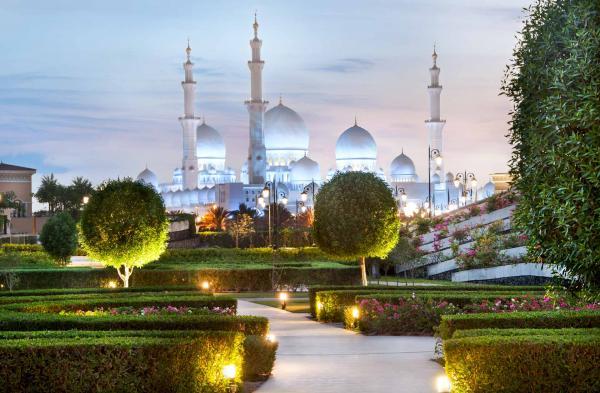 Vue de la Mosquée Sheikh Zayed depuis le Ritz-Carlton Grand Canal © Ritz-Carlton