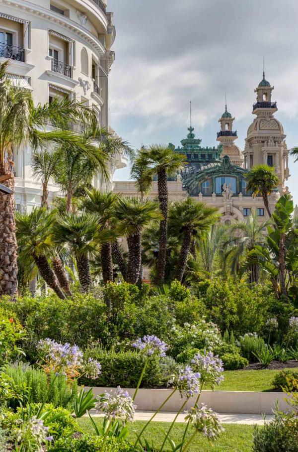 Hôtel de Paris Monte-Carlo —nouveaux jardins © MONTE-CARLO Société des Bains de Mer