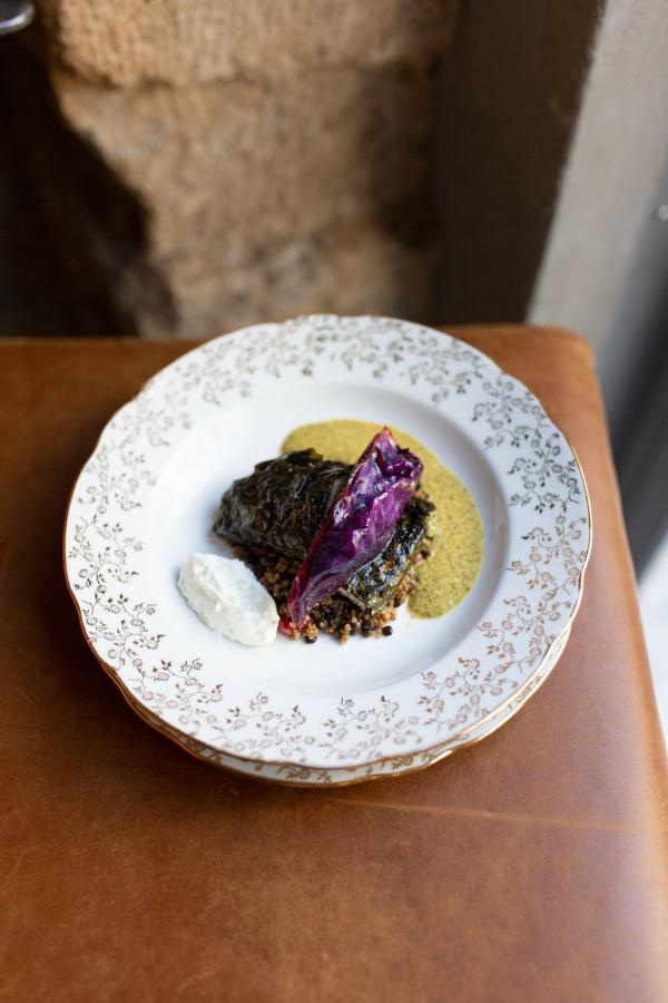 Assaf Granit pour le restaurant Shabour, Paris. © The Social Food.