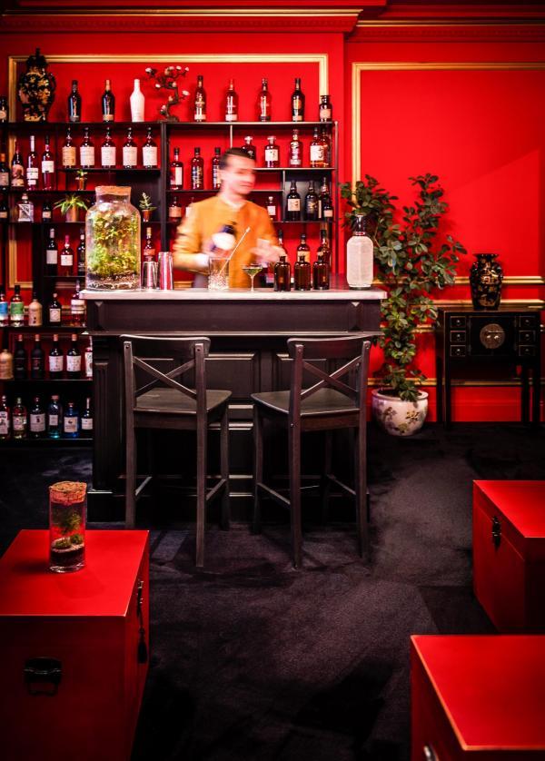 Pop-up Bar SÓNG au Shangri-La Hotel Paris © Michel Figuet