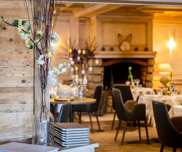 Hôtel Restaurant du Lac de Madine — Salle © DR