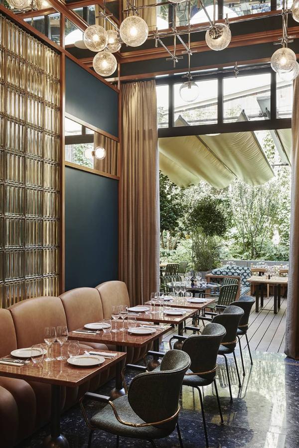 Restaurant à l'Hôtel Le Ballu (Paris 9ème arrondissement)