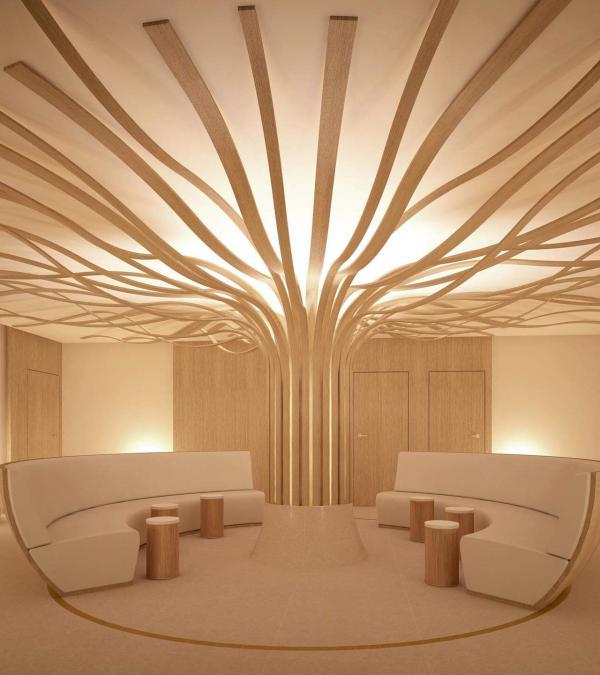 Hôtel Beau-Rivage Palace, Lausanne - Spa Cinq Mondes © Suprem Architectures