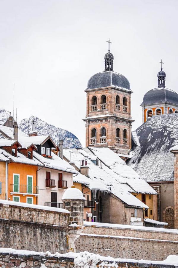 Briançon en hiver © Office de Tourisme Serre Chevalier