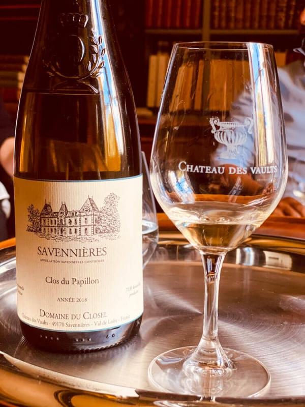 Dégustation de vin du Domaine du Closel et Chateau à Savennières © EL | YONDER.fr