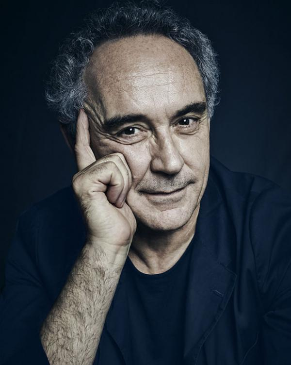 Ferran Adrià, le plus célèbre des chefs spécialisés dans la gastronomie moléculaire © www.thinkingheads.com