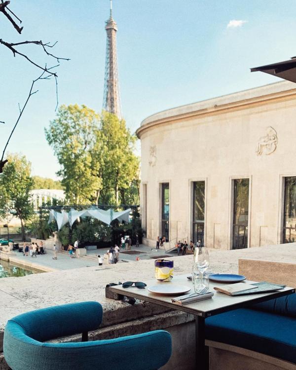 Forest | Terrasse avec vue sur la Tour Eiffel © MB|YONDER.fr