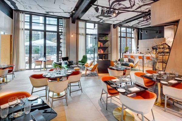 Hôtel Cinq Codet | Restaurant © Jan Prerovsky