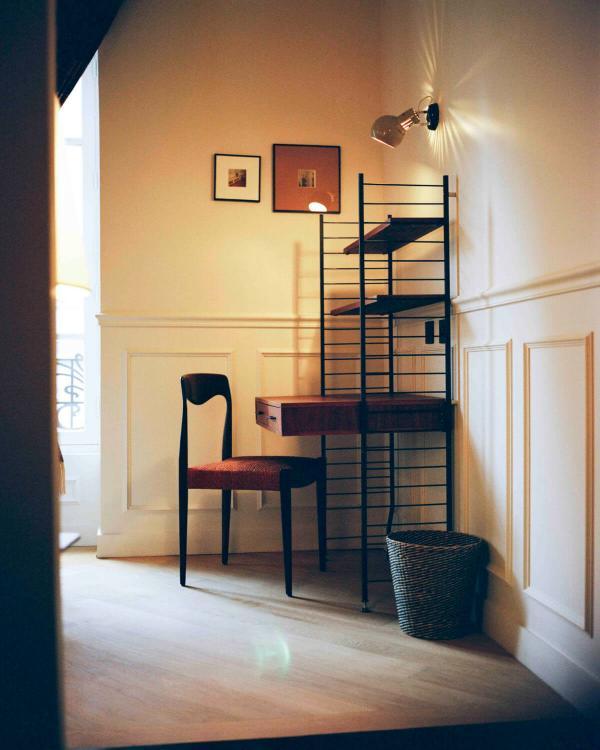 Hôtel Habituel — chambre © DR