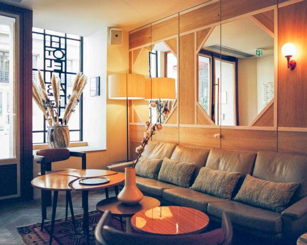 Hôtel Habituel — salon © DR