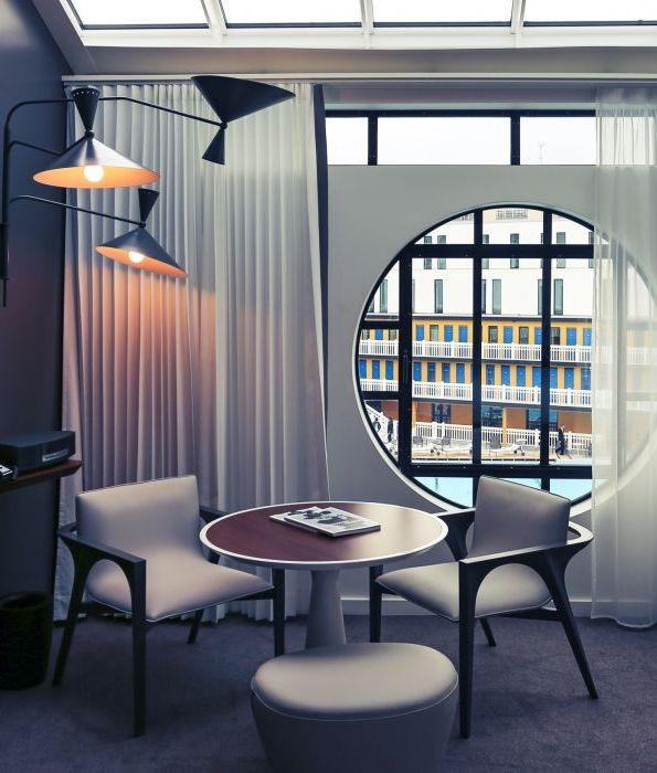 Hôtel Molitor — chambre executive avec hublot © Molitor SAS