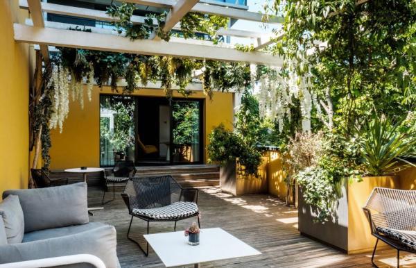 Hôtel Molitor — chambre executive avec terrasse © Molitor SAS