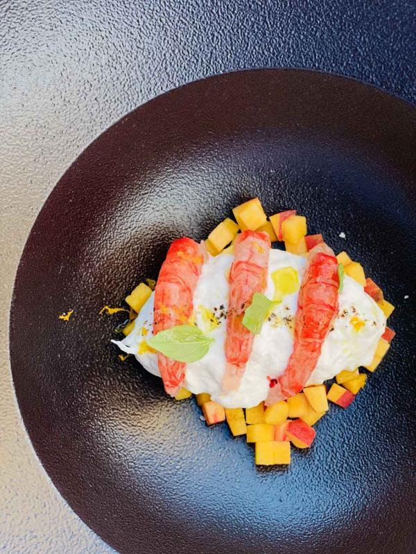 Jiva Hill Resort — plat restaurant © Emmanuel Laveran