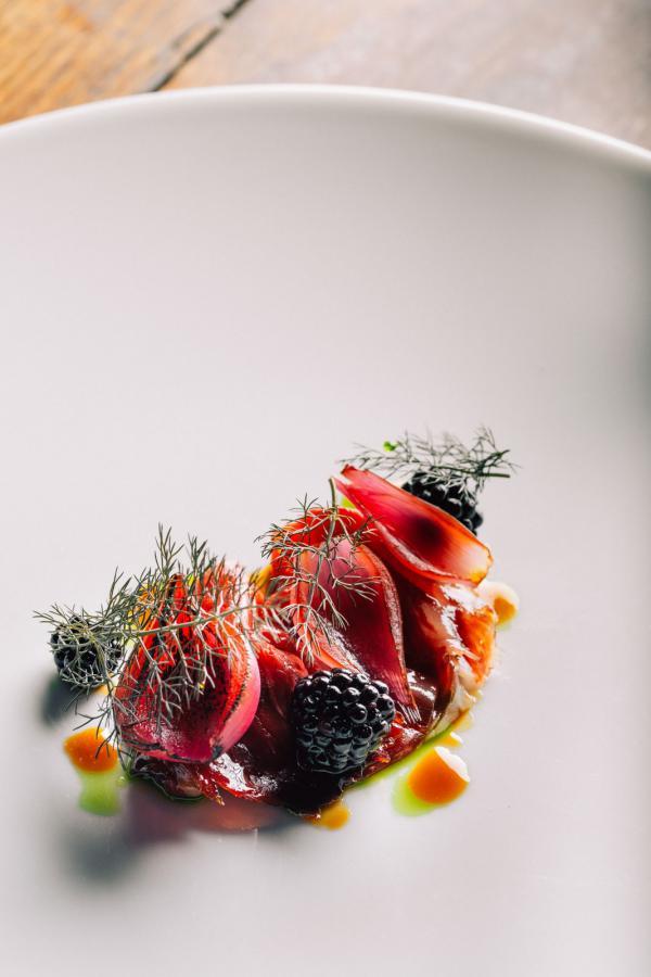 Restaurant gastronomique © Clément Puig