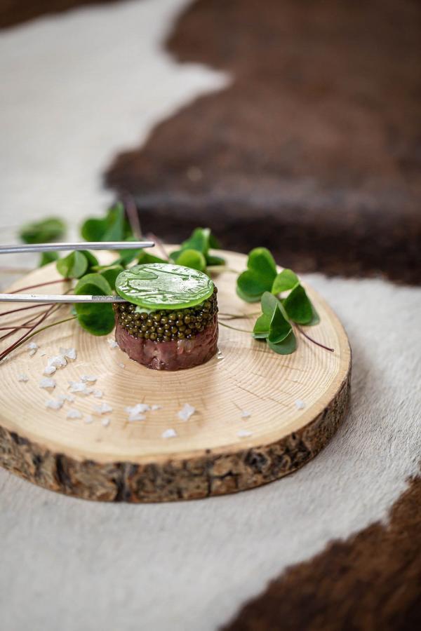 La cuisine d'Olivier Nasti © DR