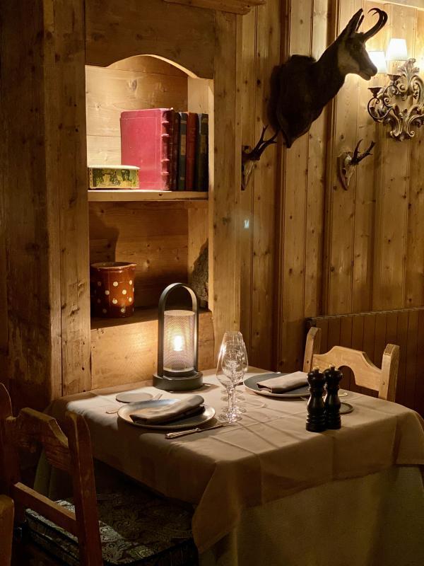 Les Fermes de Marie — Restaurant. © Emmanuel Laveran.