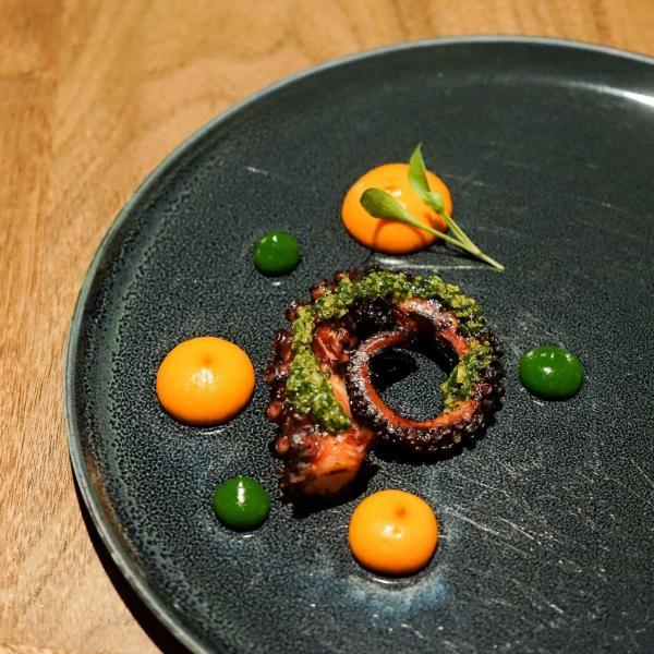 Restaurant Alma à Lisbonne - poulpe. © YONDER