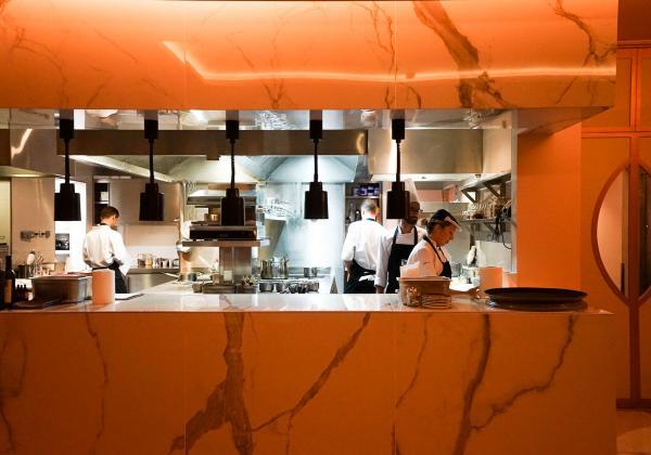 La brigade de Terreiro s'active en cuisine © YONDER.fr