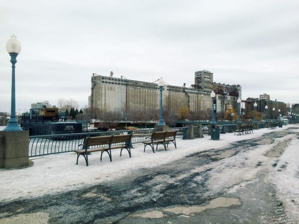 Silo numéro 5 dans le Vieux-Port de Montréal ©Pierre Gunther