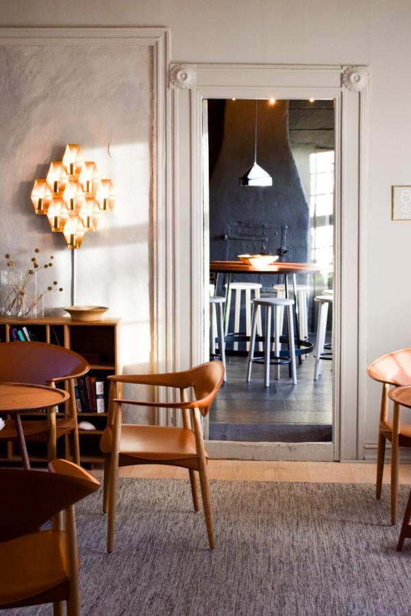 Décor scandinave à l'intérieur de la Villa Terminus © YONDER.fr