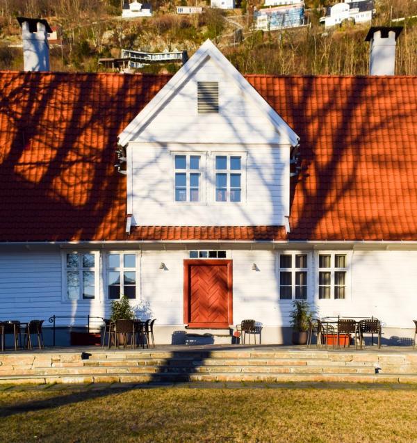 La charmante Villa Terminus à Bergen © YONDER.fr