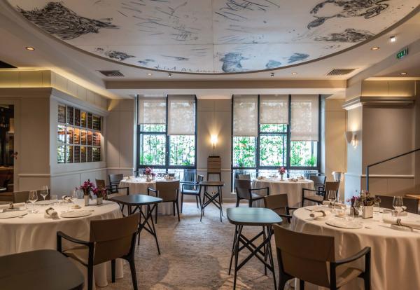La nouvelle salle du restaurant Pierre Gagnaire © Cyril Carrere