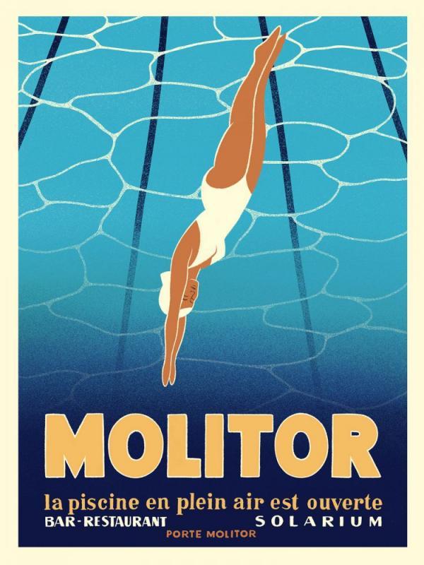 Hôtel Molitor Paris MGallery - Affiche © Paul Nox